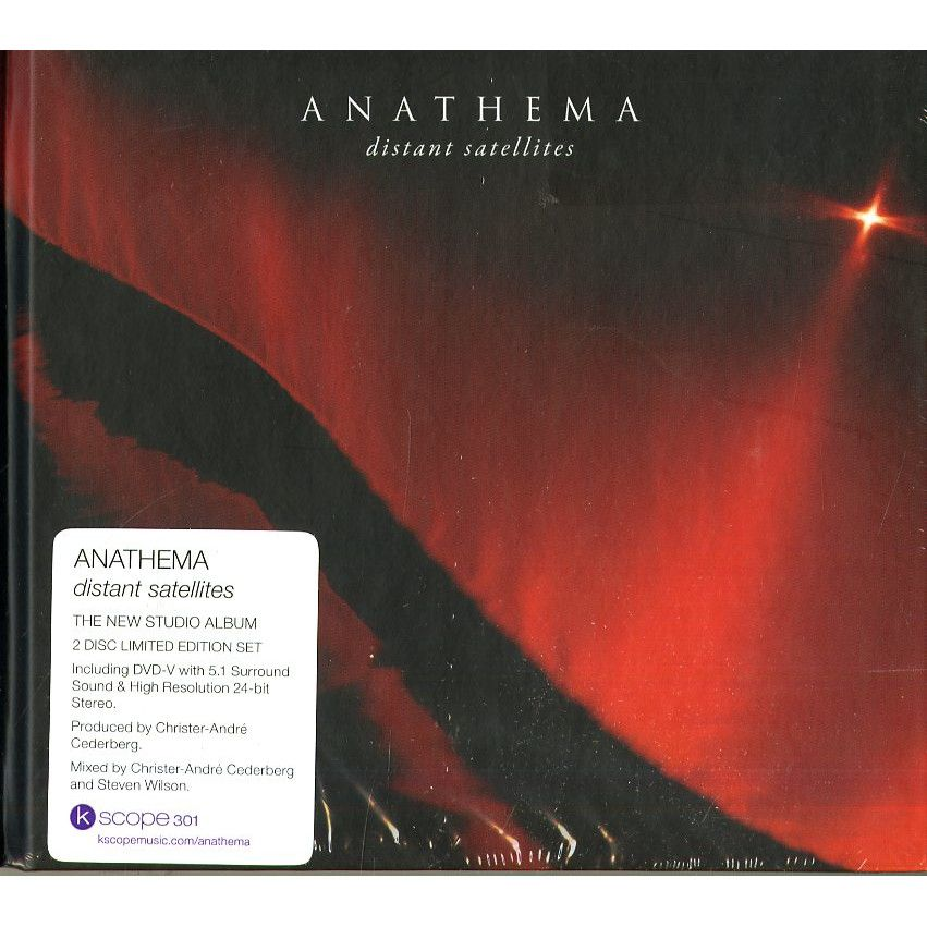 ANATHEMA // DISTANT SATELLITES - DELUXE EDITION (CD+DVD) - Wild Thing Records
