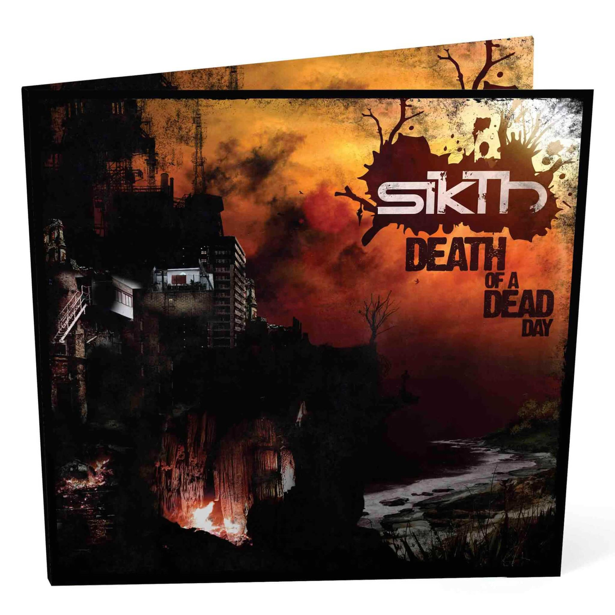 SIKTH // DEATH OF A DEAD DAY - DIGIPAK CD (10TH ANNIVERSARY EDITION) - Wild Thing Records
