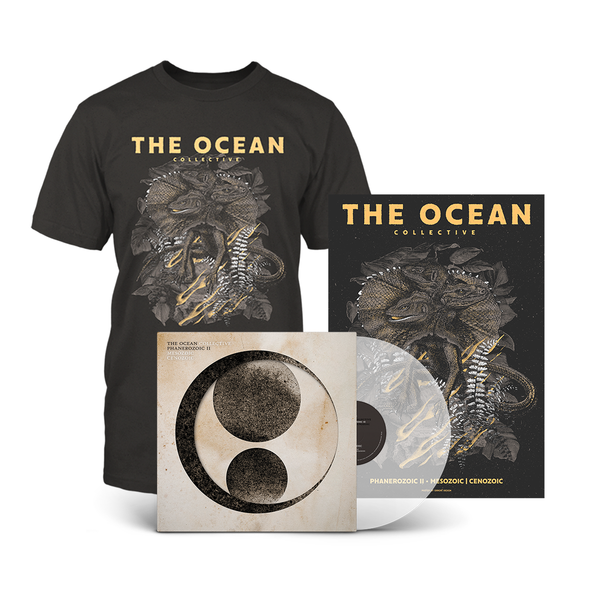 THE OCEAN // PHANEROZOIC II - VINYL BUNDLE (CLEAR LP) - Wild Thing Records