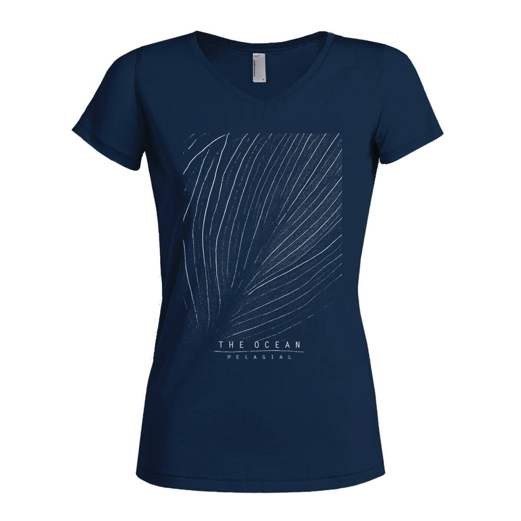 THE OCEAN // PELAGIAL SEAFLOOR BLACK T-SHIRT (WOMENS) - Wild Thing Records