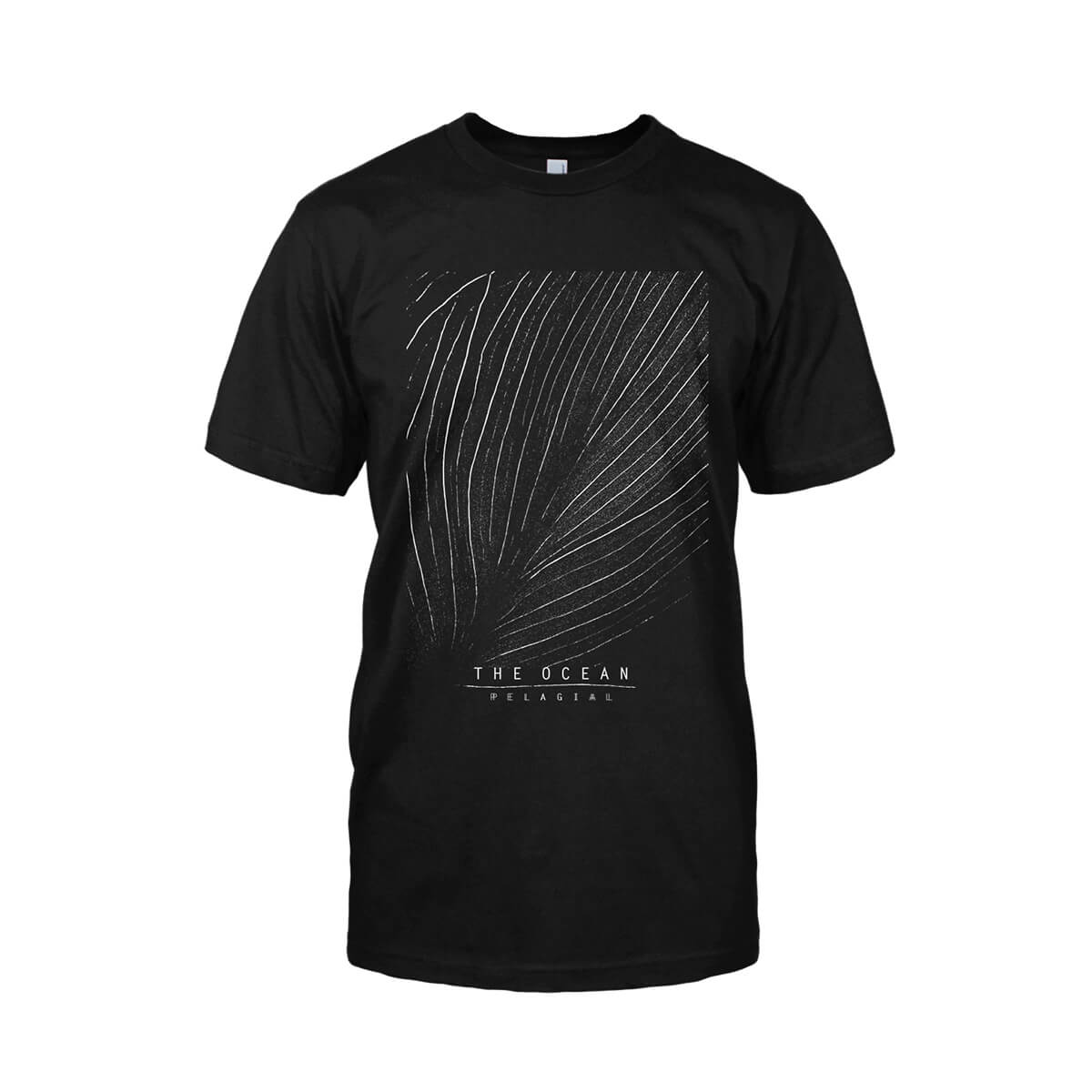 THE OCEAN // PELAGIAL SEAFLOOR BLACK T-SHIRT - Wild Thing Records