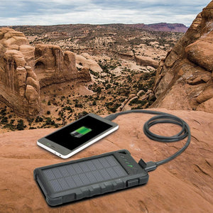 Solar Power Bank Battery 8000 MAH