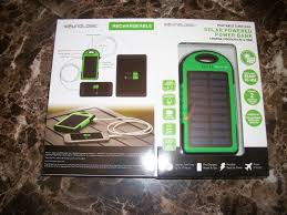 Power Bank Solar 5000 mAh