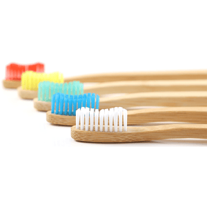 Eco-friendly bamboo toothrbrushes by Bamboogaloo