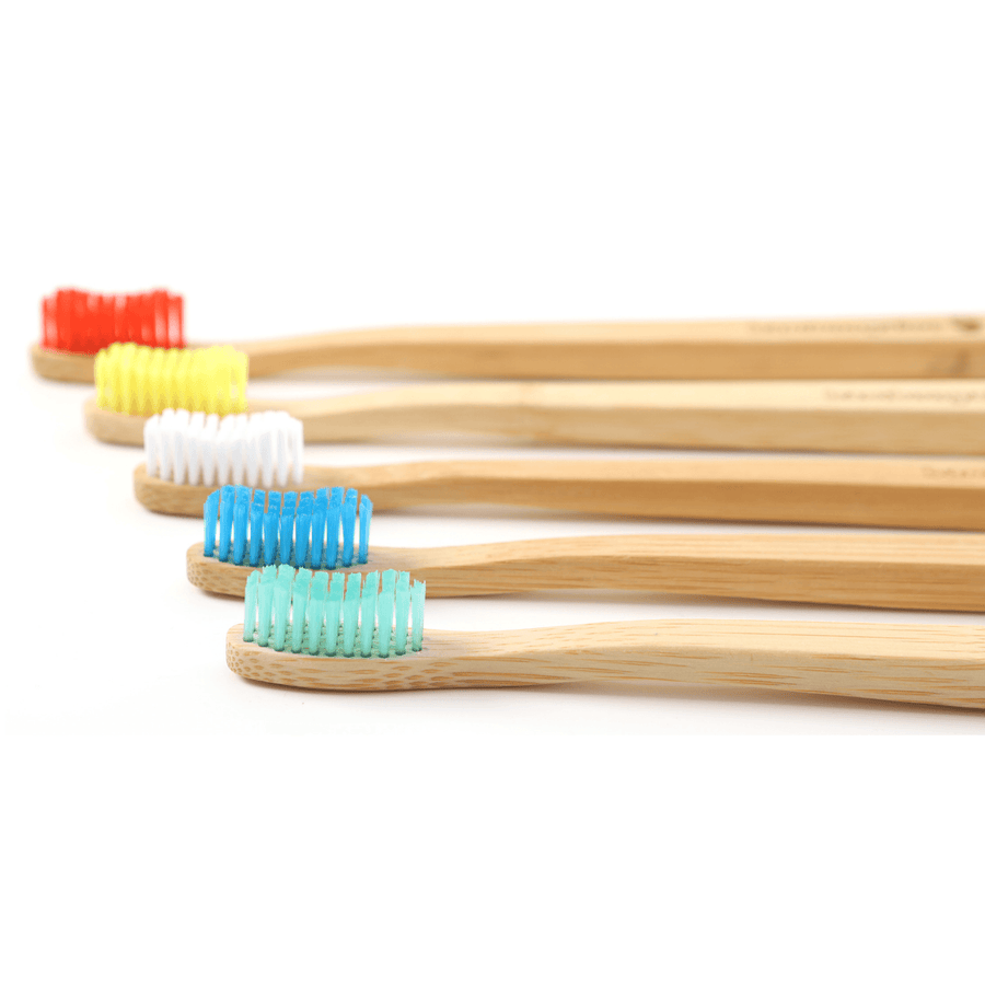 Ocean Blue Bamboo Toothbrush by Bamboogaloo