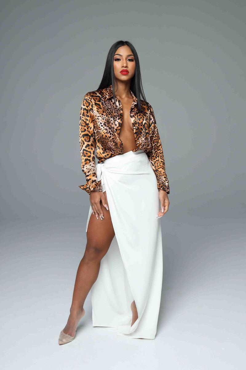 The Leopardess Silk