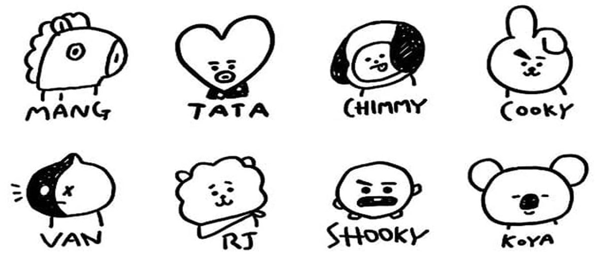 BT21 MERCH