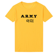 Load image into Gallery viewer, A.R.M.Y T-shirt - KPOP SALES