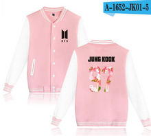 Load image into Gallery viewer, BTS Baseball Jacket - KPOP SALES