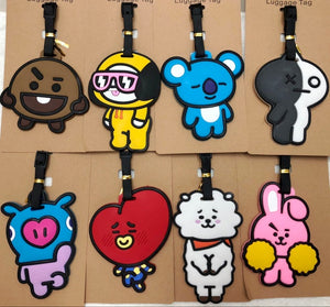 BT21 Luggage Tags - KPOP SALES