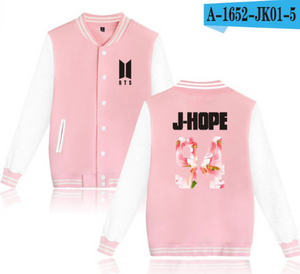 BTS Baseball Jacket - KPOP SALES