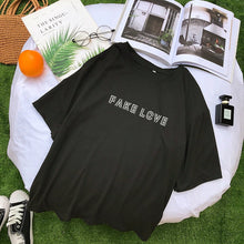 Load image into Gallery viewer, BTS FAKE LOVE T Shirt - KPOP SALES