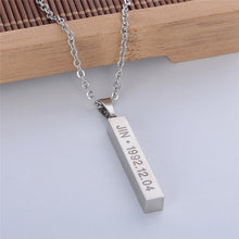 Load image into Gallery viewer, BTS Bias Necklace - KPOP SALES