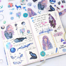 Load image into Gallery viewer, Cute Planner Stickers 6Sheets/Pack - KPOP SALES
