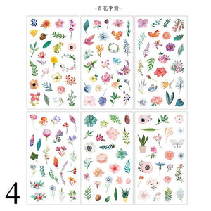 Cute Planner Stickers 6Sheets/Pack - KPOP SALES