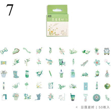 Load image into Gallery viewer, Kawaii Drink Stickers 50Pcs/set - KPOP SALES