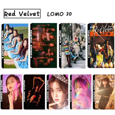 Red Velvet LOMO Cards - KPOP SALES