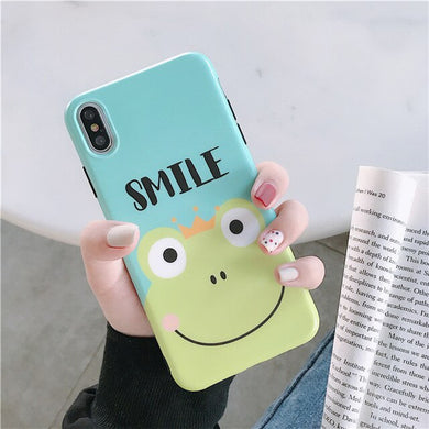 Kawaii Frog Case For iphone - KPOP SALES