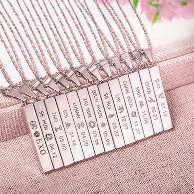 EXO Bias Necklace - KPOP SALES