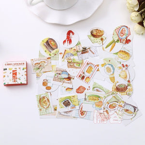 Cartoon Sticker 40 PCS/box - KPOP SALES