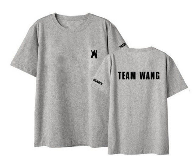 GOT7 Jackson Team Wang T-shirt - KPOP SALES