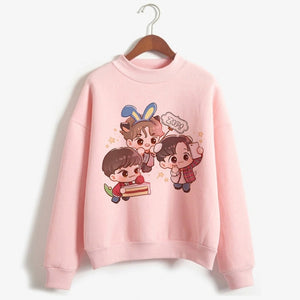 Exo Cartoon Sweatshirt - KPOP SALES