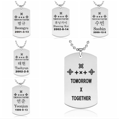 TXT Necklace - KPOP SALES