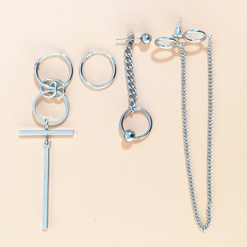 Jungkook Earrings (4 pcs/set) - KPOP SALES