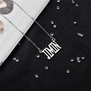 BTS Names Necklace - KPOP SALES