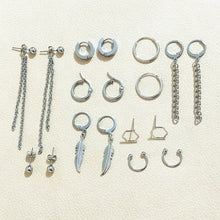 Load image into Gallery viewer, V Earrings (18 pcs/set) - KPOP SALES