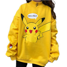 Load image into Gallery viewer, Pikachu Sweatshirt - KPOP SALES