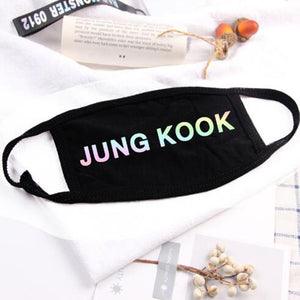 BTS Face Mouth Mask - KPOP SALES