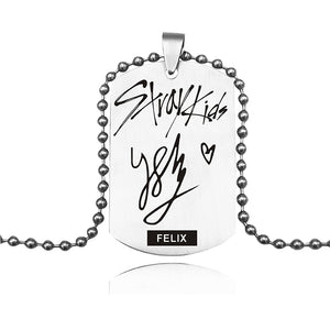 Stray Kids Signature Necklace - KPOP SALES