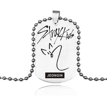 Load image into Gallery viewer, Stray Kids Signature Necklace - KPOP SALES