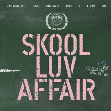 BTS SKOOL LUV AFFAIR 2nd Mini Album CD - KPOP SALES