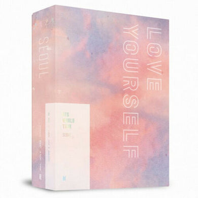 BTS WORLD TOUR LOVE YOURSELF IN SEOUL DVD 3 DISC+Book+Poster+Card+Pre-Order+GIFT - KPOP SALES
