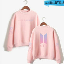 Load image into Gallery viewer, BTS Love Yourself Sweatshirt - KPOP SALES