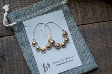 Load image into Gallery viewer, Bubble Hoops - Silver Earrings