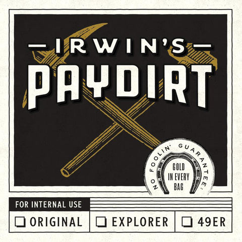 4 oz Irwin's Paydirt Bags for sale