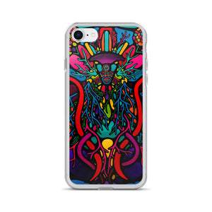 The Screaming Abyss iPhone Case