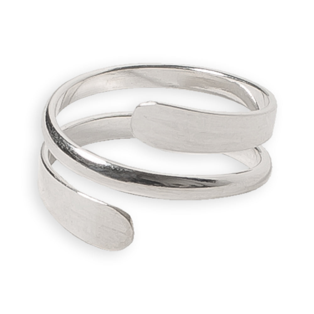 Pipeline Sterling Thumb Ring