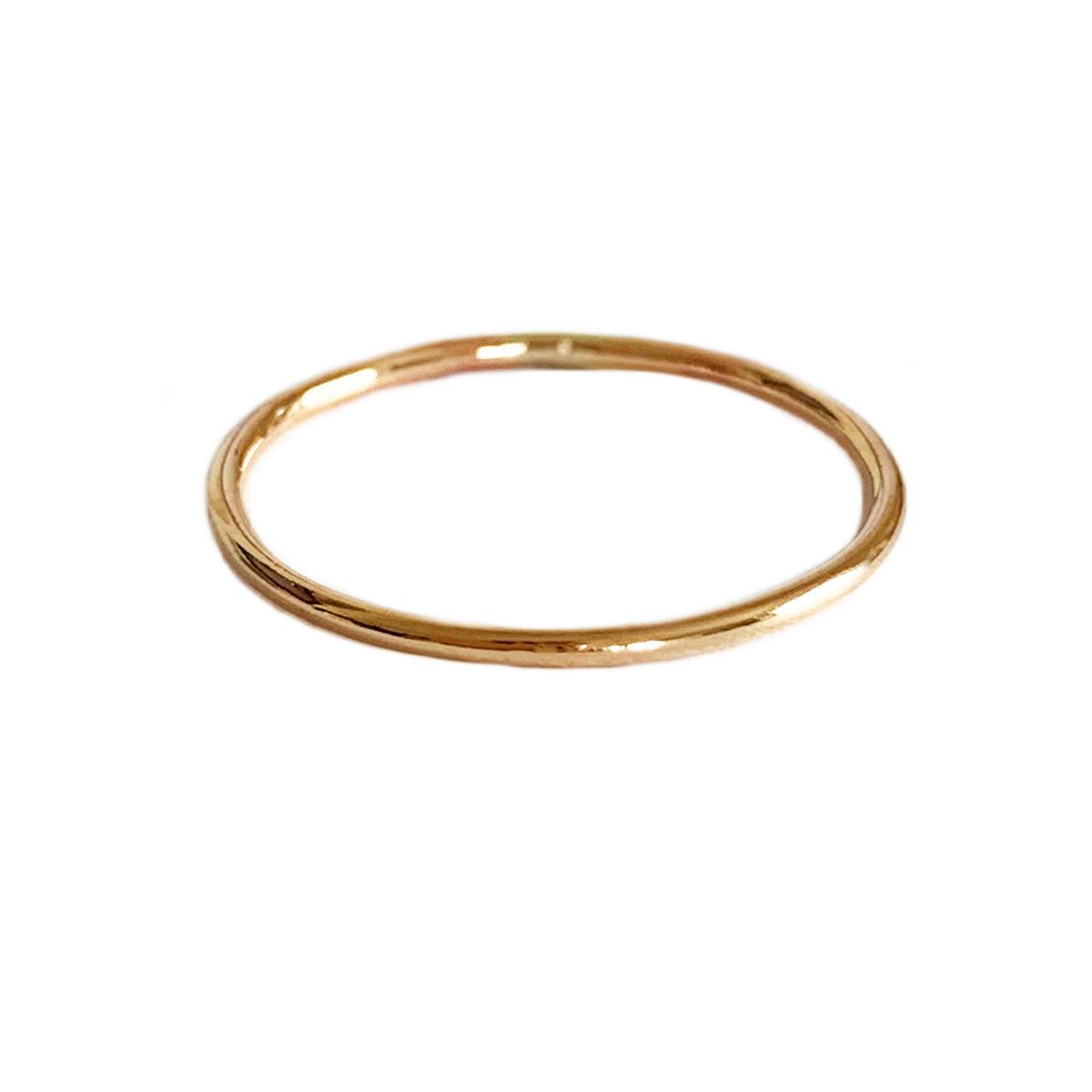 1mm Round Skinny Gold Fill Midi Ring