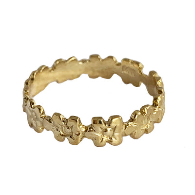 Aloha Lei 14K Gold Fitted Toe Ring
