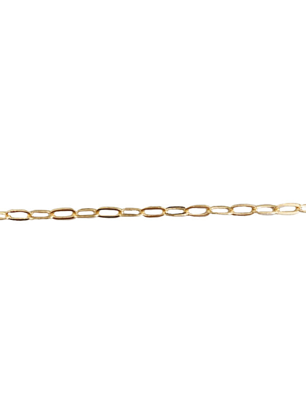 Mini Cable Chain in 14k Gold Bracelet or ANklet