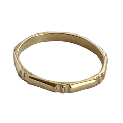 Bamboo Toe Ring