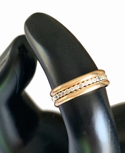Bee Band Stack Adjustable Toe Ring