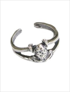 Frog Sterling Adj Toe Ring