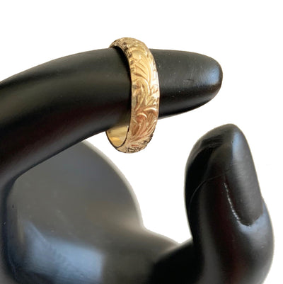 Garden Party Gold Fill Thumb Ring