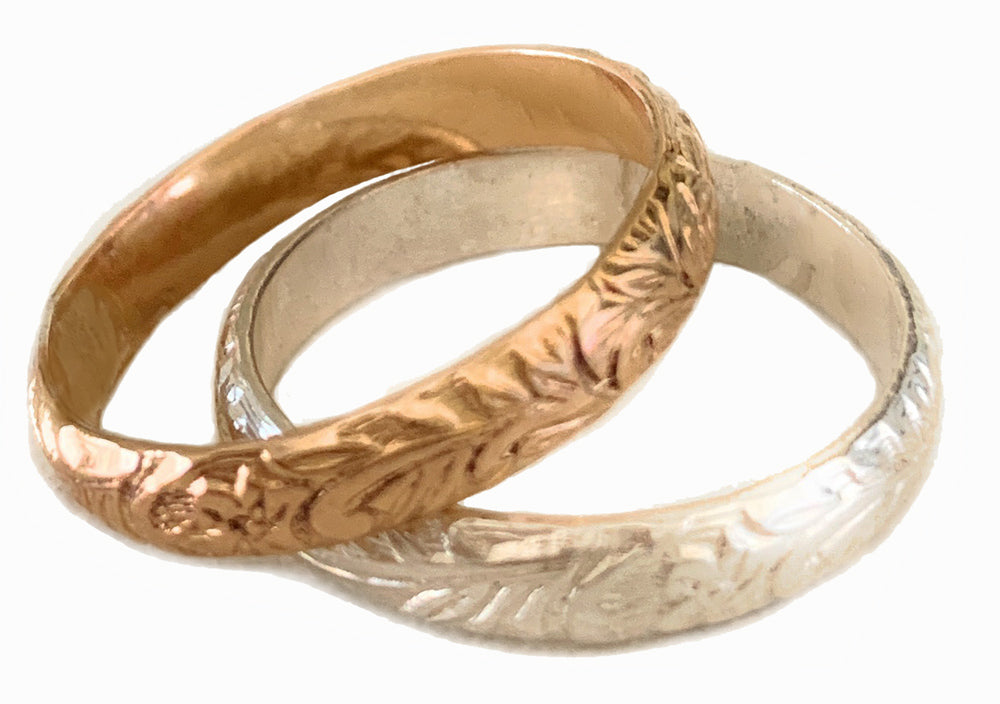 Garden Party Sterling Thumb Ring