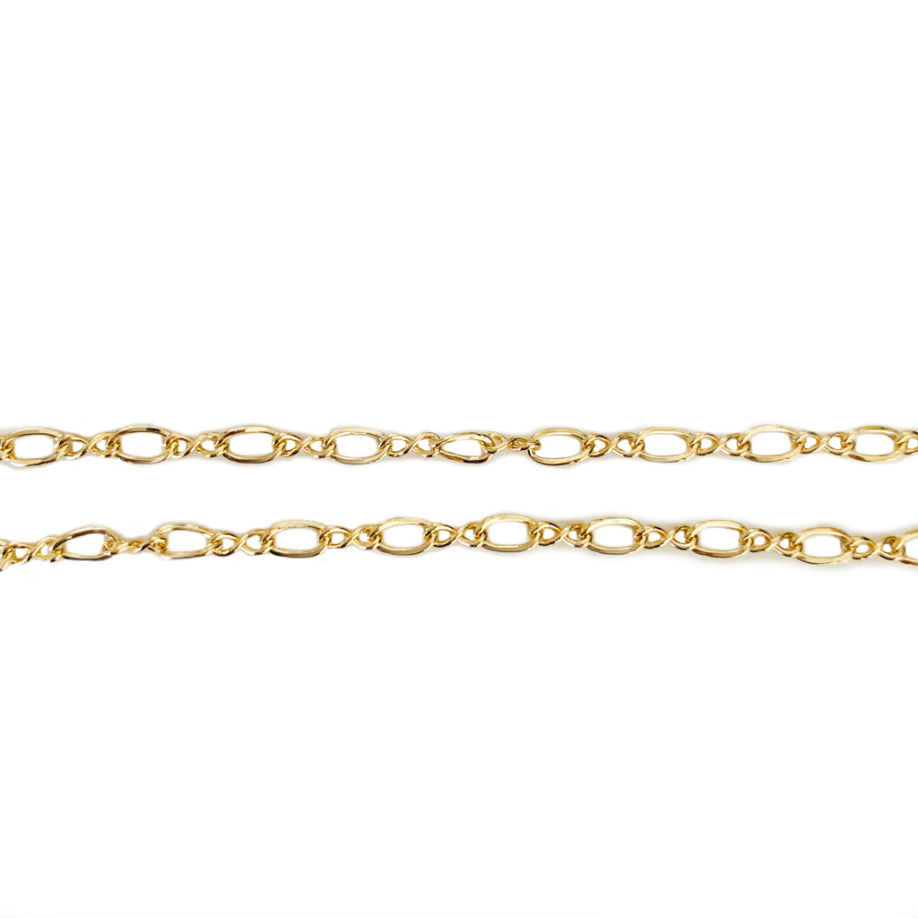 Figure Eight Gold Fill Anklet